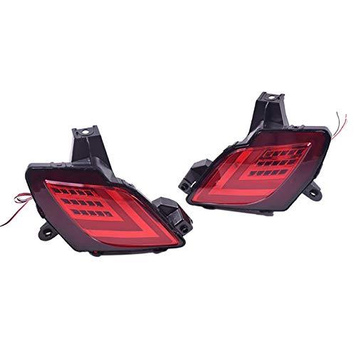 tellaLuna Luces Reflectoras del Parachoques Trasero Luces de Freno LED MultifuncióN LáMpara de SeeAl de Giro DináMica para CX-5 CX5 2013-2016