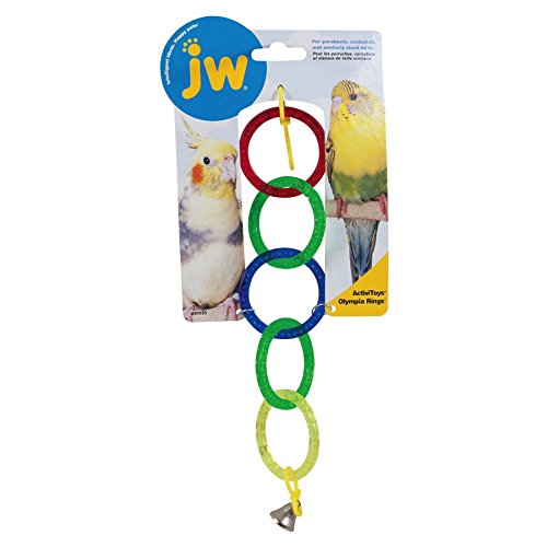 Jwp Toy Bird Olympia Rings (Pack of 3)