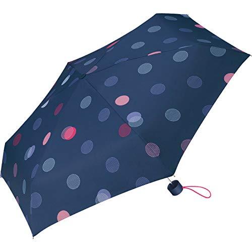 Esprit Petito E-Motional Pocket Umbrella Dots Sailer Blu