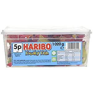 haribo freaky fish tub 120 pieces Haribo Freaky Fish Tub 120 Pieces 41BEQHFS 6L