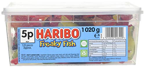 Sweets freaky Fisch 120 Bag