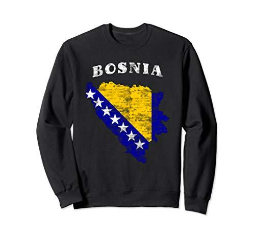 Bosnien und Herzegowina Flagge Bosnisch Sweatshirt