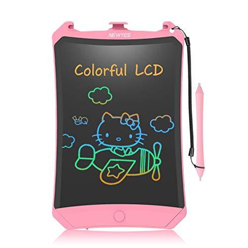 Lavagna da disegno LCD, display colorato da 8,5 pollici, per bambini (rosa)
