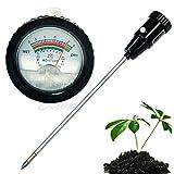 Manyo Soil Tester Set, Feuchtigkeitstester für Boden & Boden-Tester PH, Bodenfeuchtigkeit mit Langer Sonde für Garten/Gras/Pflanze