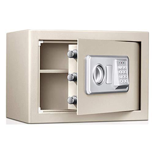 FACAIA Tresore, Schranksafes Elektronische Digitale Sicherheit Safe, Stahl Passwort sicher Brandfest Wasserdicht für Home Office Hotel Schmuck Bargeld, 35 * 25 *