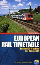 European Rail Timetable Summer 2010 (Thomas Cook Rail Guides)