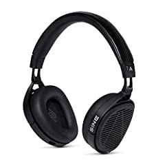 GREAT AUDIO EVERYWHERE: The lightweight, modern industrial design of the SINE folds flat, so you can easily take it anywhere. The sturdy aluminum frame and comfortable leather earpads deliver great comfort wherever you go SUPERIOR RESOLUTION: Our inn...