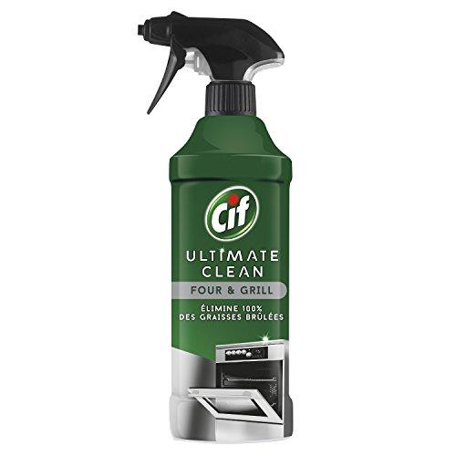 CIF Spray Four et Grill, Elimine 100% des Graisses Brûlées 435ml