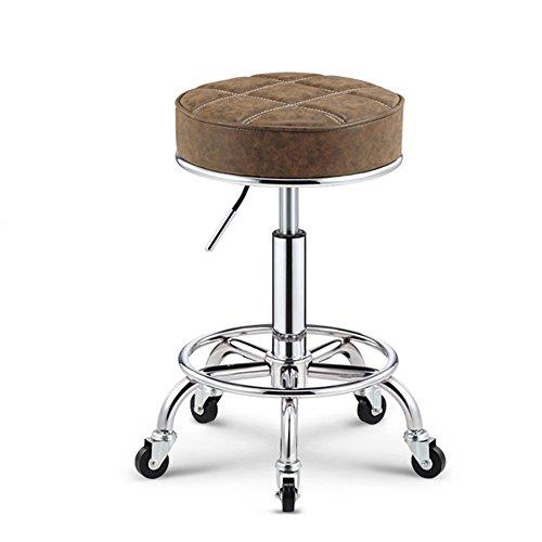 Unbekannt Guo Shop- Kuhfell Dreh-Anti-Explosion Stuhl Registrierkasse Lift Barhocker Hochstuhl Stuhl sitzen 50-64.5cm Guter Stuhl