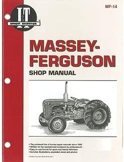 SMMF14 MF-14 MF14 New Massey Ferguson Tractor Shop Manual F40 TO35 35 50 202 204