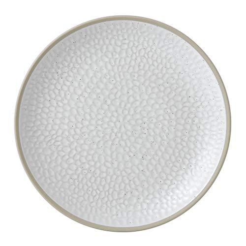 Royal Doulton Gordon Ramsay Maze Grill 40034470 Beilagenteller, 23 cm, weiß, Steingut