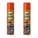 2 x Horno Brite Limpiador en Spray - Oven & Grill Cleaner - 300ml