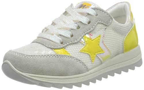 PRIMIGI Mädchen Scarpa Bambina Sneaker, Weiß (Perl/BCO-Arg/Bi 5378400), 27 EU