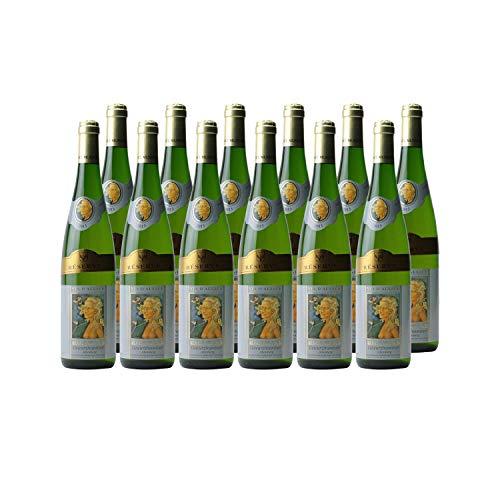 Alsace Gewurztraminer Réserve Weißwein 2013 - Alsace Munsch - g.U. - Elsass Frankreich - Rebsorte Gewurztraminer - 12x75cl