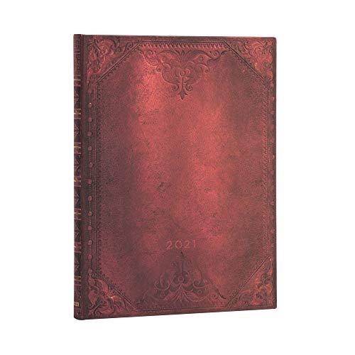 Paperblanks 12-Monatskalender 2021 Urban Glam Schlicht   Verso   Ultra (180 × 230 mm), DD6762-7