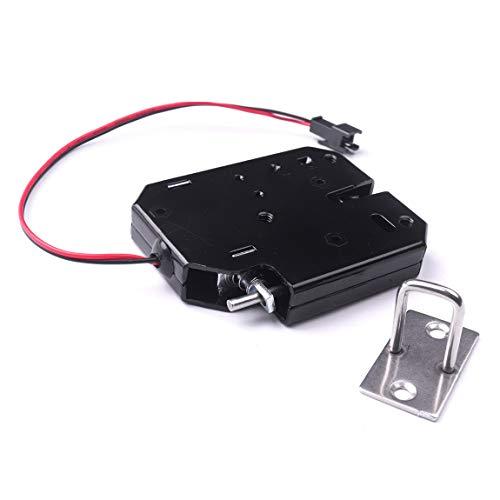 ATOPLEE Verrou électronique pour armoire, 1 pièce DC 12 V pour porte d'armoire, tiroir, garde-manger