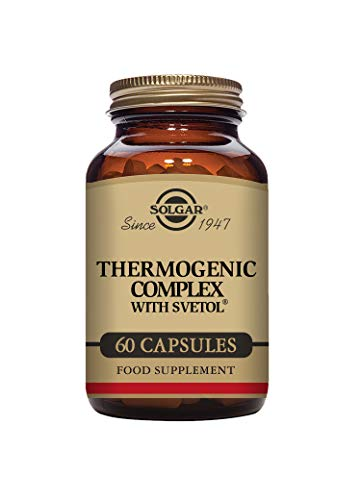 Solgar Thermogenic Complex with Svetol Vegetable Capsules - Pack of 60