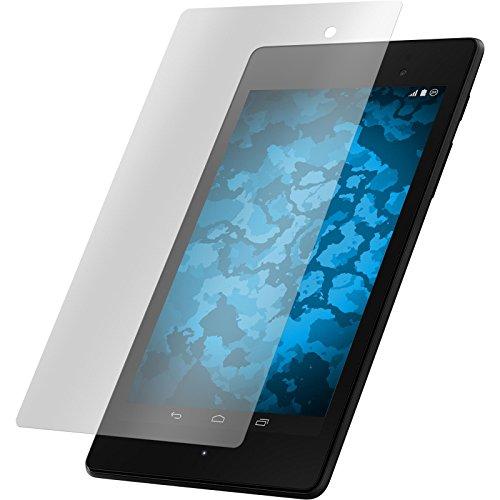 PhoneNatic 4er-Pack Bildschirmschutzfolien klar kompatibel mit Google Nexus 7 2013