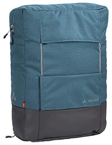VAUDE Hinterradtaschen Cyclist Pack, 2 in 1 Rucksack und Gepäckträgertasche, blue gray, one Size, 121849810