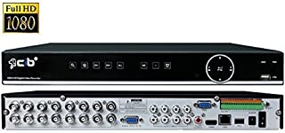 CIB True 1080P 2MP HD 16CH Recording and Display DVR system,HDMI output up to 4K,Included 2TB HDD,Network Viewing,for TVI ...