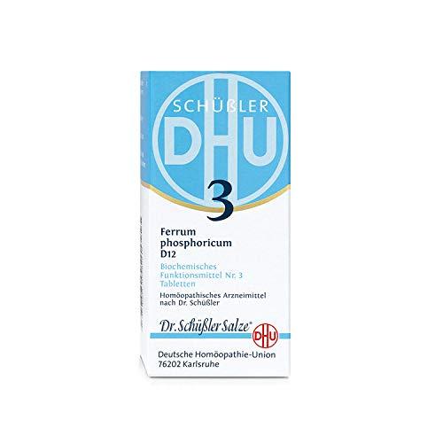 DHU Schüßler-Salz Nr. 3 Ferrum phosphoricum D12 Tabletten, 200 St. Tabletten