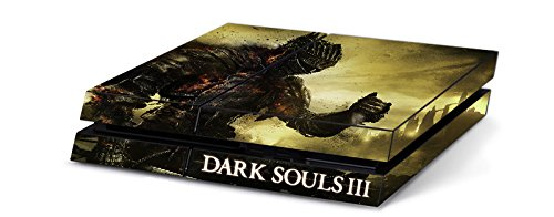Dark Souls 3 Game Skin for Sony Playstation 4 PS4 Console