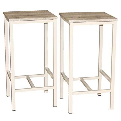 Mod. BRASIL Set de 2 taburetes muebles Sillas Design bar Cocina