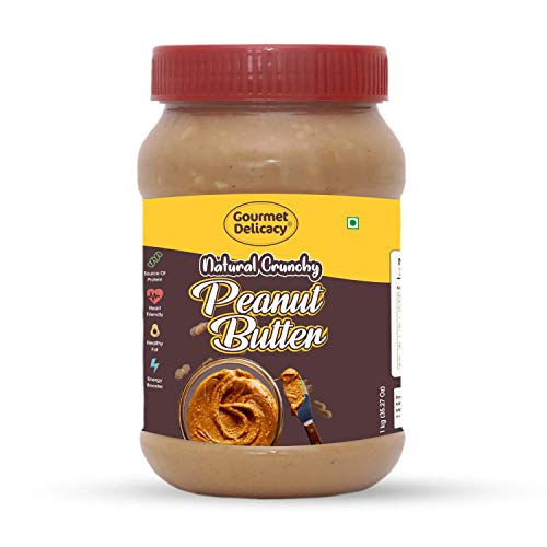 Gourmet Delicacy All Natural Crunchy Peanut Butter 1 kg