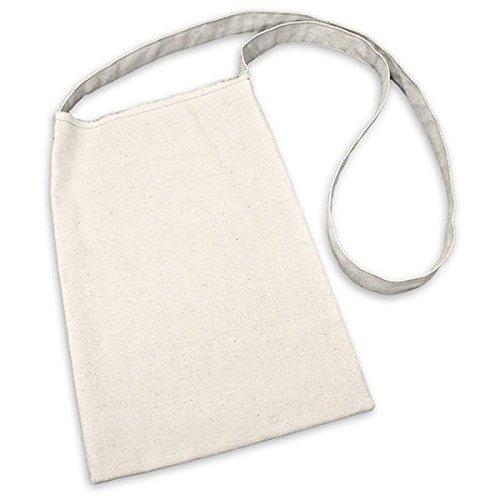 Canvas Corp Leinwand Medium Schultertasche 21,6x 13-inch-natural, andere, mehrfarbig
