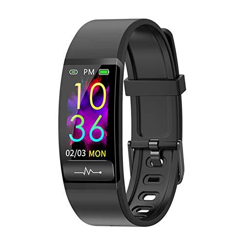 GYY Pulsera Inteligente M8 Presión Arterial De Medición De La Presión Arterial Monitor De Ritmo Cardíaco Smart Watch H66 Actividad Fitness Tracker Pulsera (Color : Black)
