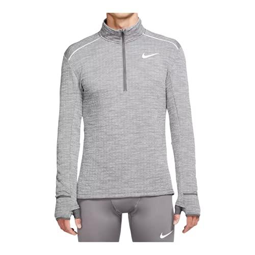 Nike Men's Dri-Fit Sphere Element Top (Grey, Medium)