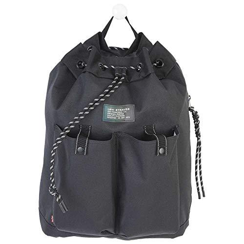 Levi's Nautical Backpack - Bolso para hombre, talla única, Negro (Regular Black), Talla única
