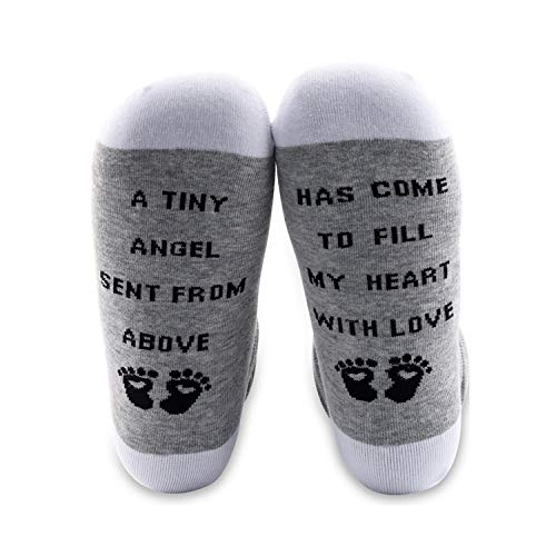 MYSOMY Calcetines de mamá para ser regalo calcetines para embarazo, regalos para el embarazo