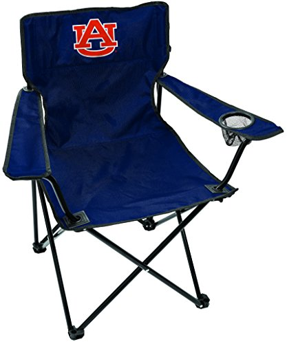 Rawlings NCAA Gameday Elite Lightweight Folding Tailgating Chair, with Carrying Case, Auburn Tigers