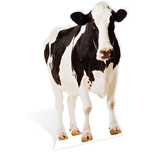SC163 Cow Cardboard Cutout Standup
