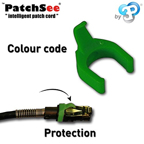 Black 5.90ft Cat6 FTPA Patchsee Cable