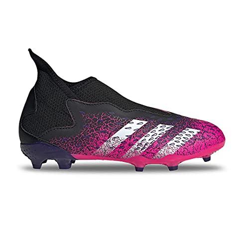 adidas Predator Freak .3 LL FG J, Zapatillas de fútbol, NEGBÁS/FTWBLA/ROSSHO, 34 EU