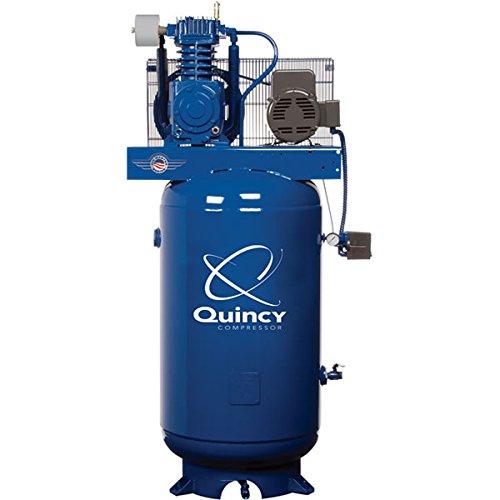 Quincy QT-5 Splash Lubricated Reciprocating Air Compressor -...