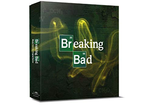 """Breaking Bad (Music From The Original Srie Tv 5X10"""" Box Set Color Vinyl)"""