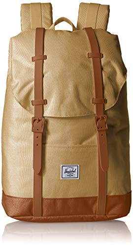 Herschel Mochila unisex para adultos Retreat Multipurpose Kelp/Sillín de color marrón. Talla única