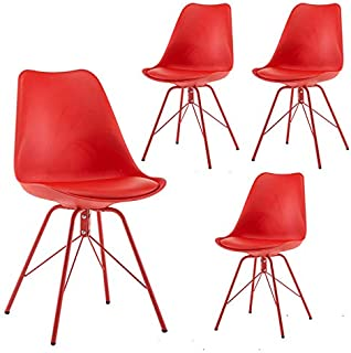 Amazon.com: Red Kitchen & Dining Room Chairs