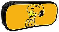 ペンケース スヌーピー Snoopy 2 ボックス ペン箱 マルチポーチ 多機能ペン袋 筆箱 鉛筆ケース 化粧ポーチ 文具収納 大容量筆箱 通用文具 収納 入学 入園