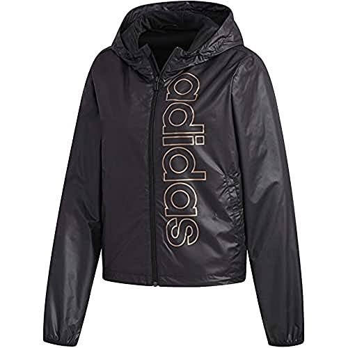adidas Damen Sport Jacket W E Branded WB, Black/Copper met., 2XL, FL0148