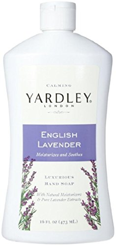 Yardley London Luxurious Hand Soap Refill, Flowering English Lavender 16 oz (Pack of 6)