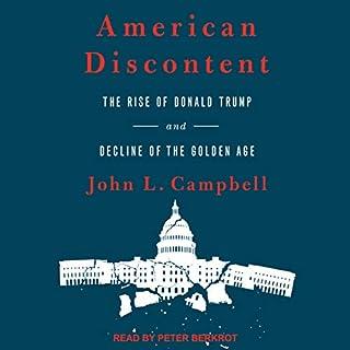 American Discontent audiobook cover art