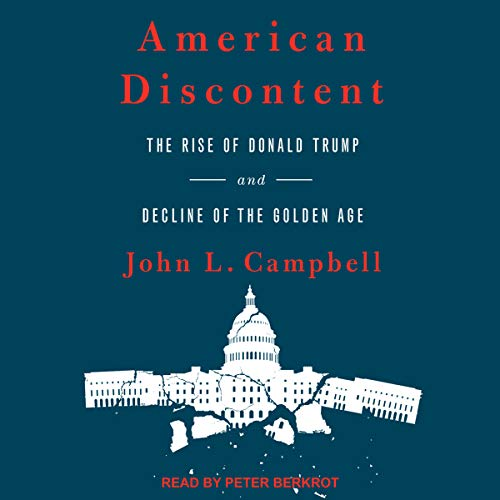 American Discontent audiobook cover art