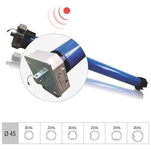 h Markisenantrieb/Markisenmotor, mechanisch einstellbar, Notkurbelbetrieb, integr. Funk (SW78 | 50 Nm | bis 113 kg | Funkprotokoll G2) (1 ST)
