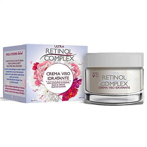 Crema facial ultra hidratante con extracto de peonía, aceite de argán, aceite de cáñamo 50ml