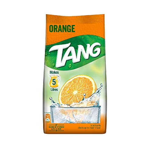 Tang Orange Instant Drink Mix, 500 gm (Pack of 2)