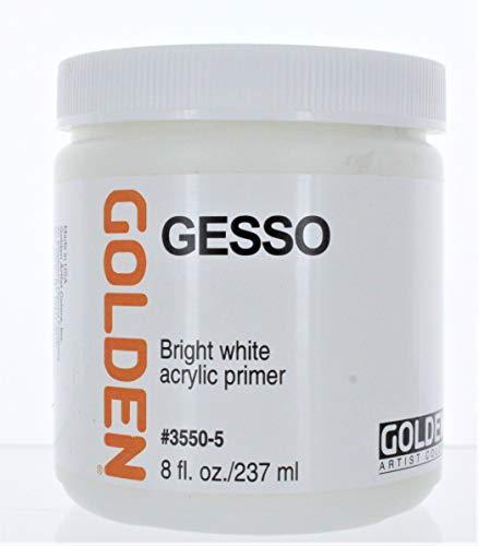 Golden Acrylic Gesso - 8 oz Jar